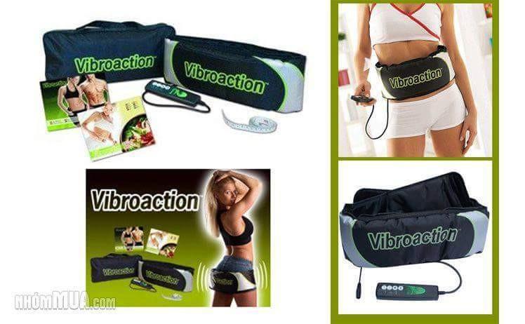 Đai massage giảm béo Vibroaction