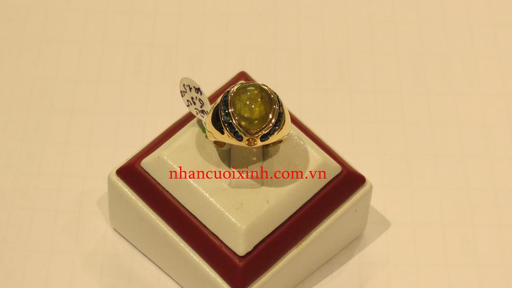 Nhẫn nữ Tourmaline vàng Saphia