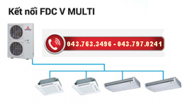 hệ multi hoạt động đồng thời FDC V