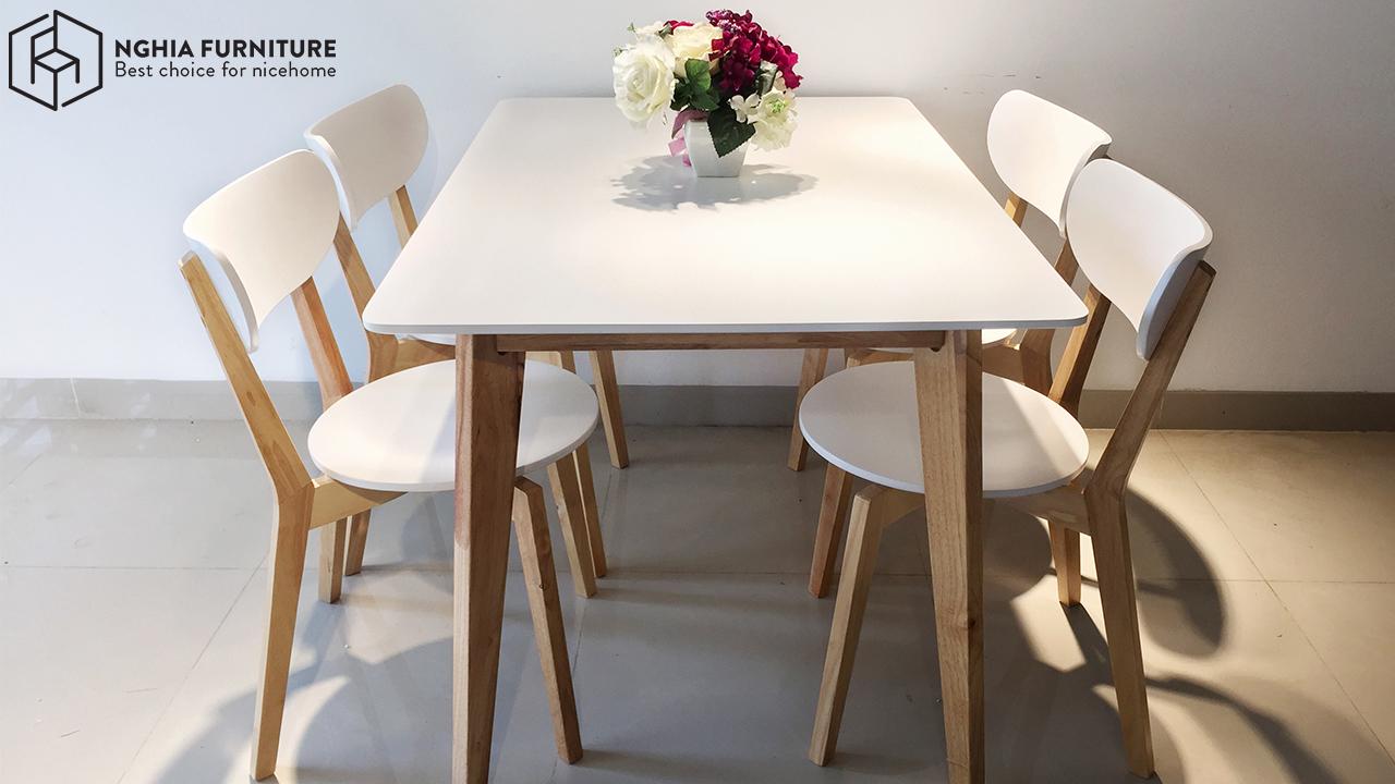 bàn ăn 4 ghế Hà Nội