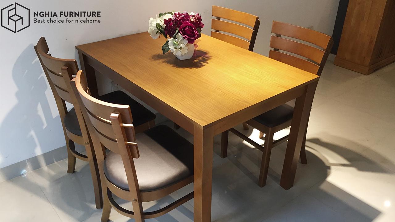 Bộ bàn ăn 4 ghế Mostar giá rẻ