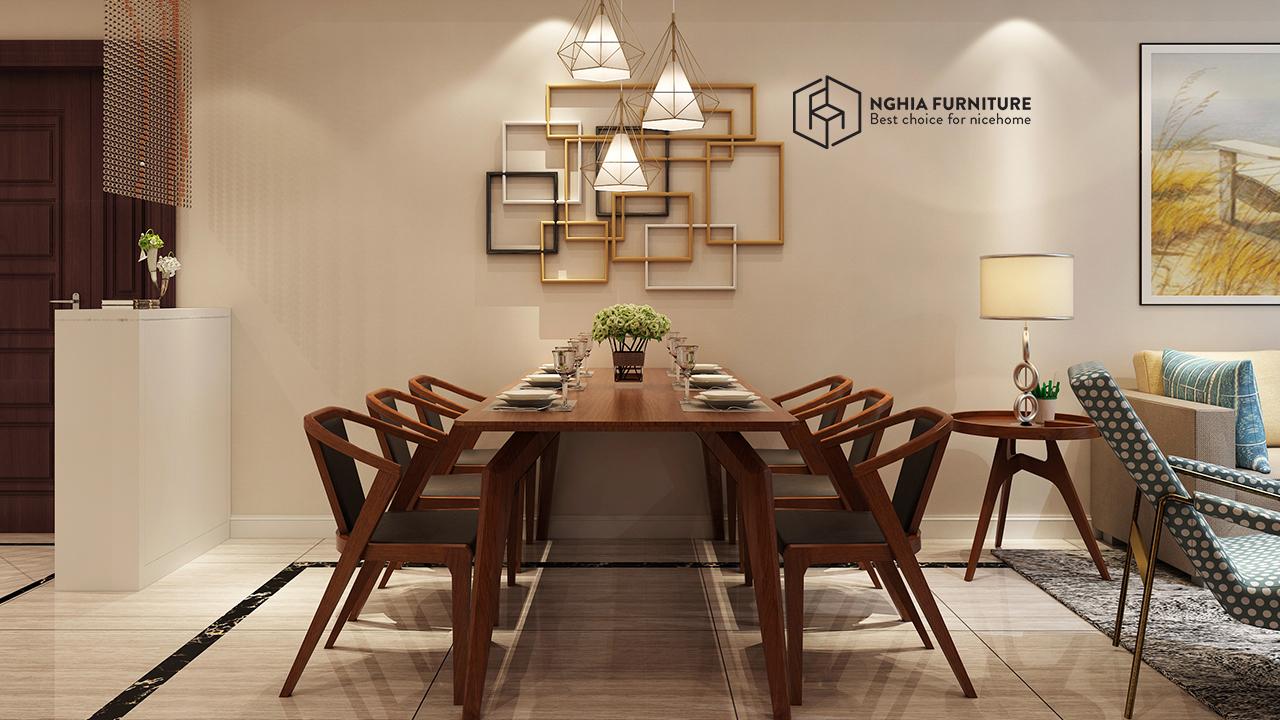 bàn ghế ăn đẹp bằng gỗ