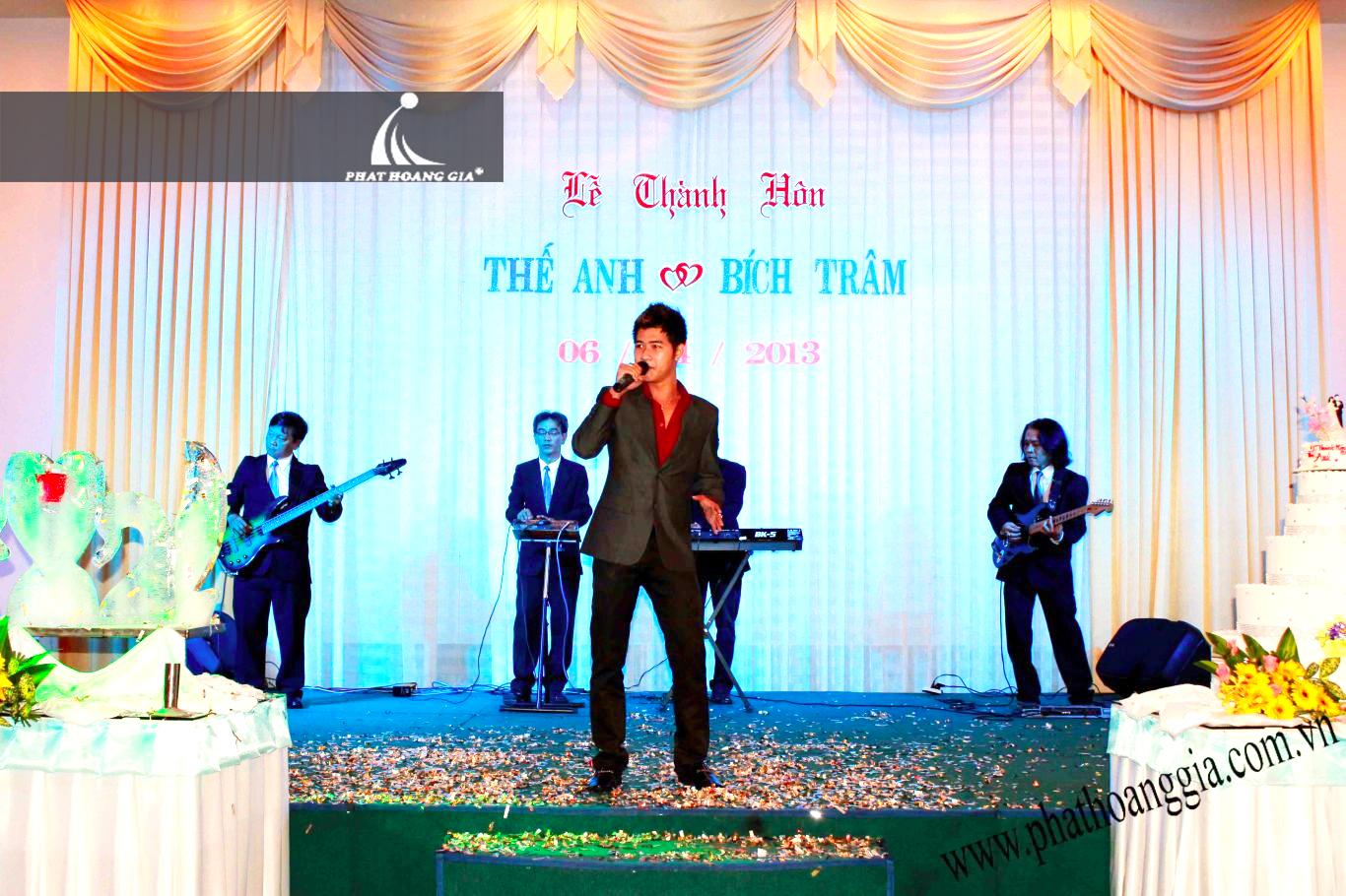 Cung cấp ca sĩ tiệc cưới 1