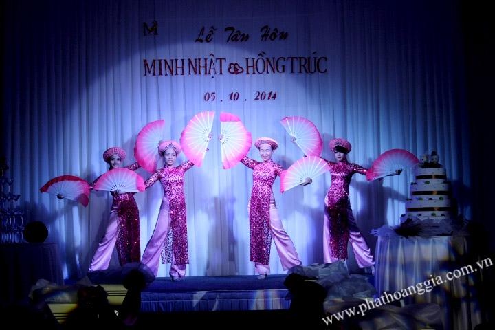 cung cấp vũ đoàn múa Á 3