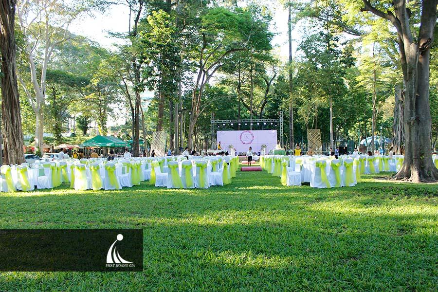 tổ chức tiệc cưới ngoài trời 3
