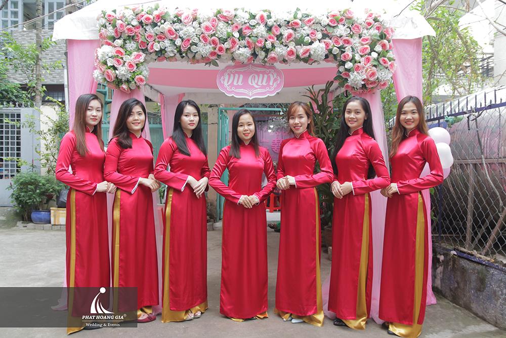lễ gia tiên tone hồng