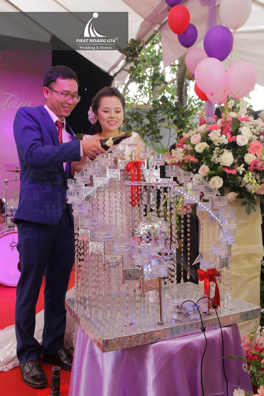 cung cấp thiết bị tiệc cưới