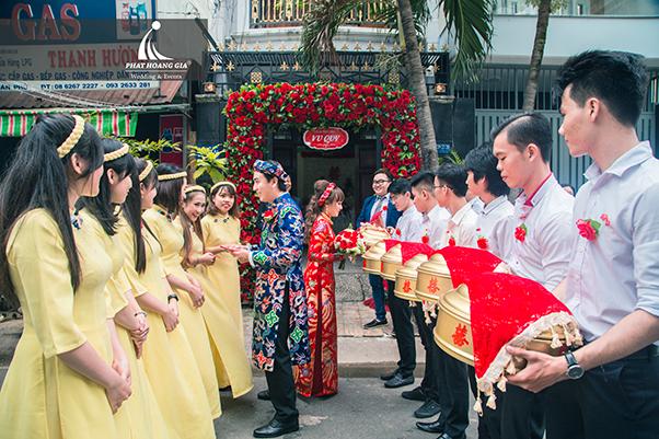 trình tự cơ bản trong lễ cưới truyền thống