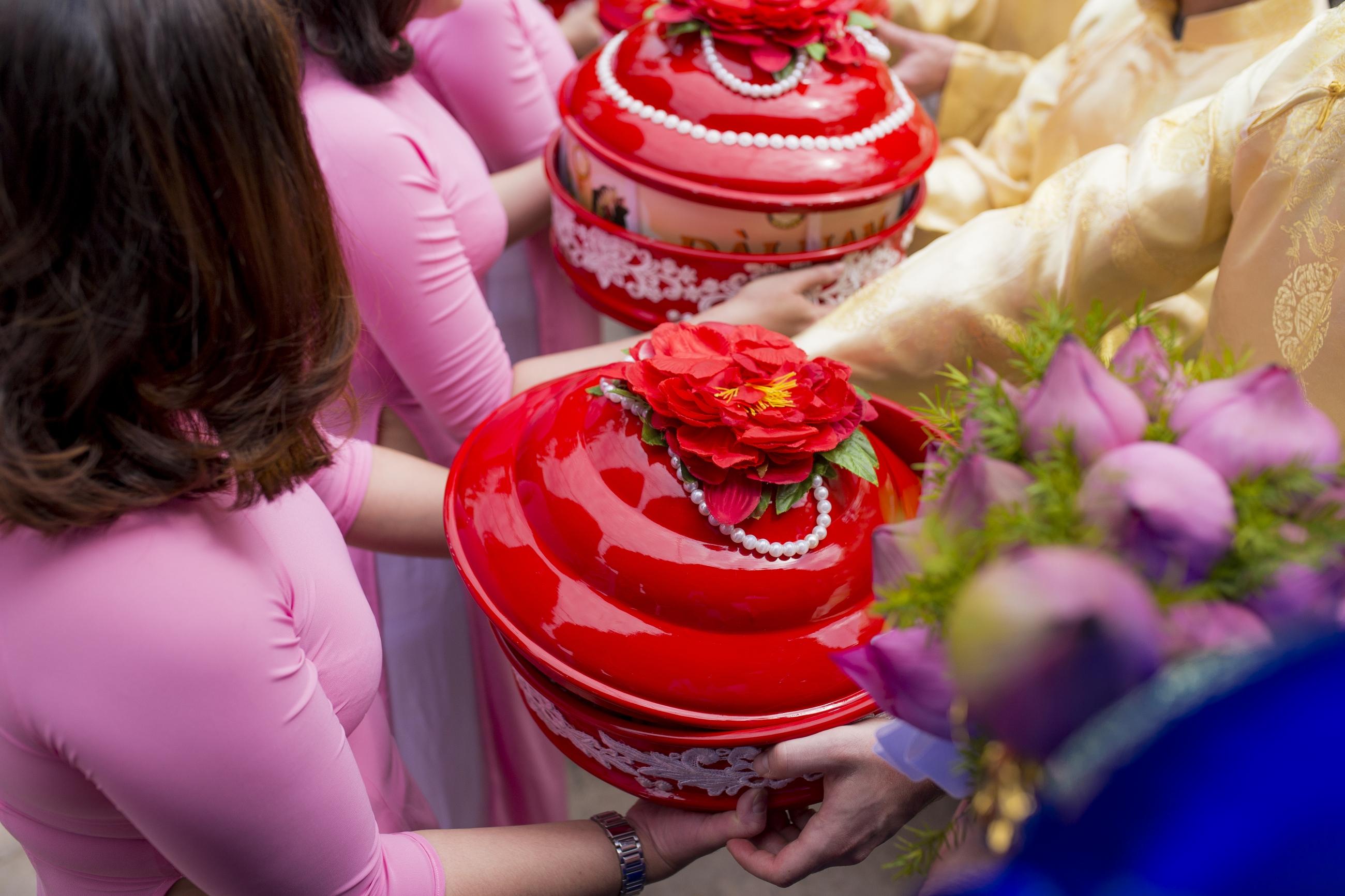 những quan niệm trong đám cưới việt nam