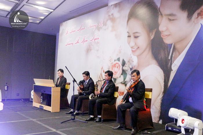 cung cấp cho thuê ban nhạc trong tiệc cưới - đám cưới