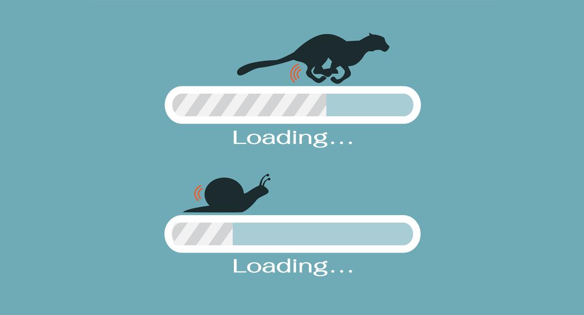 thiết kế website cần tối ưu tốc độ tải trang