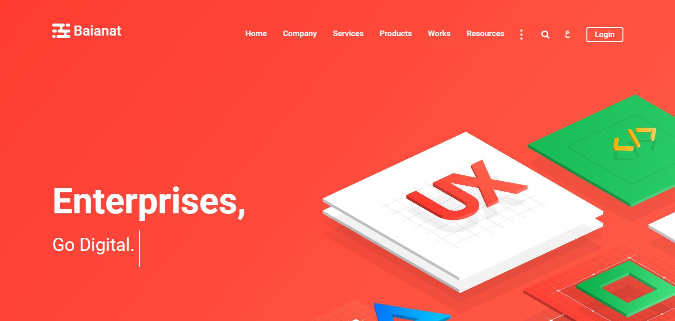 xu hướng thiết kế website 2