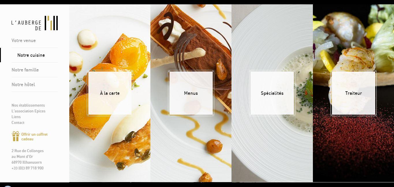 thiết kế website nhà hàng1