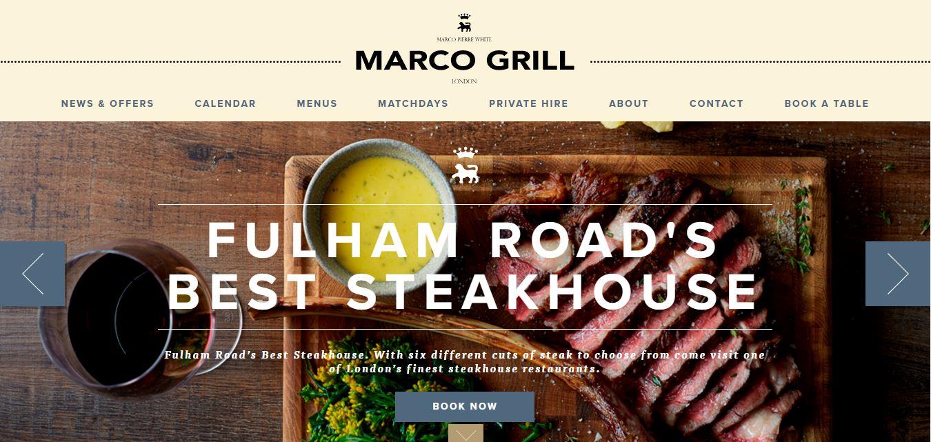 thiết kế website nhà hàng3