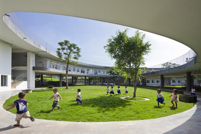 Trường mầm non ở Biên Hòa lọt top 30 công trình đẹp nhất thế giới - Ảnh 9.
