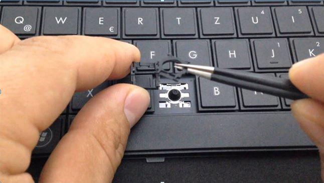 Image result for bàn phím bị kẹt nút