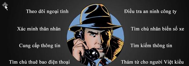Các dịch vụ thám tử hiện nay tại Hà Nội