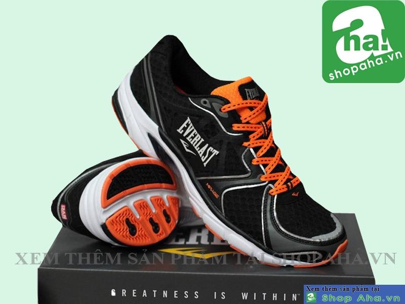 giày everlast đen cam