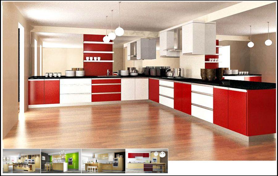 Các mẫu tủ bếp hình chữ l đẹp và giá ở đâu tốt nhất TpHCM 02