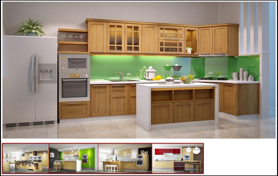 Các mẫu tủ bếp hình chữ l đẹp và giá ở đâu tốt nhất TpHCM 03