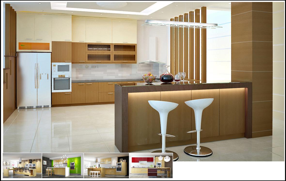 Tủ bếp laminate là gì giá tủ bếp laminate và acrylic tại TpHCM 01
