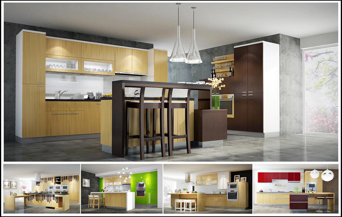 Tủ bếp laminate là gì giá tủ bếp laminate và acrylic tại TpHCM 04