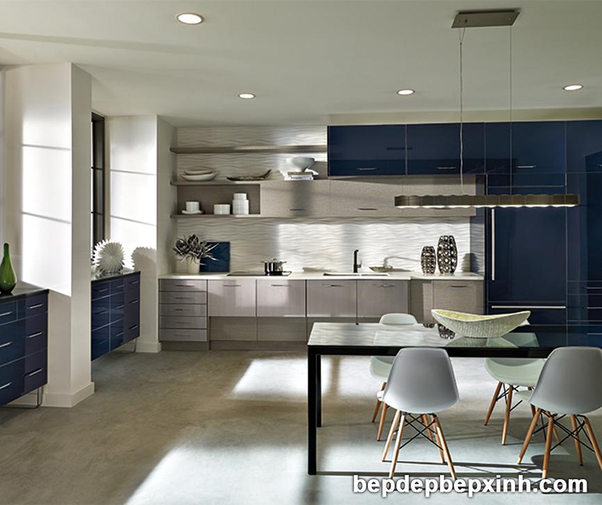 Mẫu tủ bếp hiện đại đẹp nhất hiện nay tại TpHCM 01