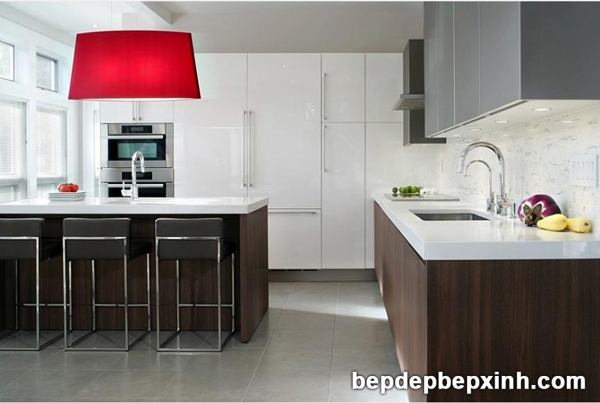 Mẫu tủ bếp hiện đại đẹp nhất hiện nay tại TpHCM 02