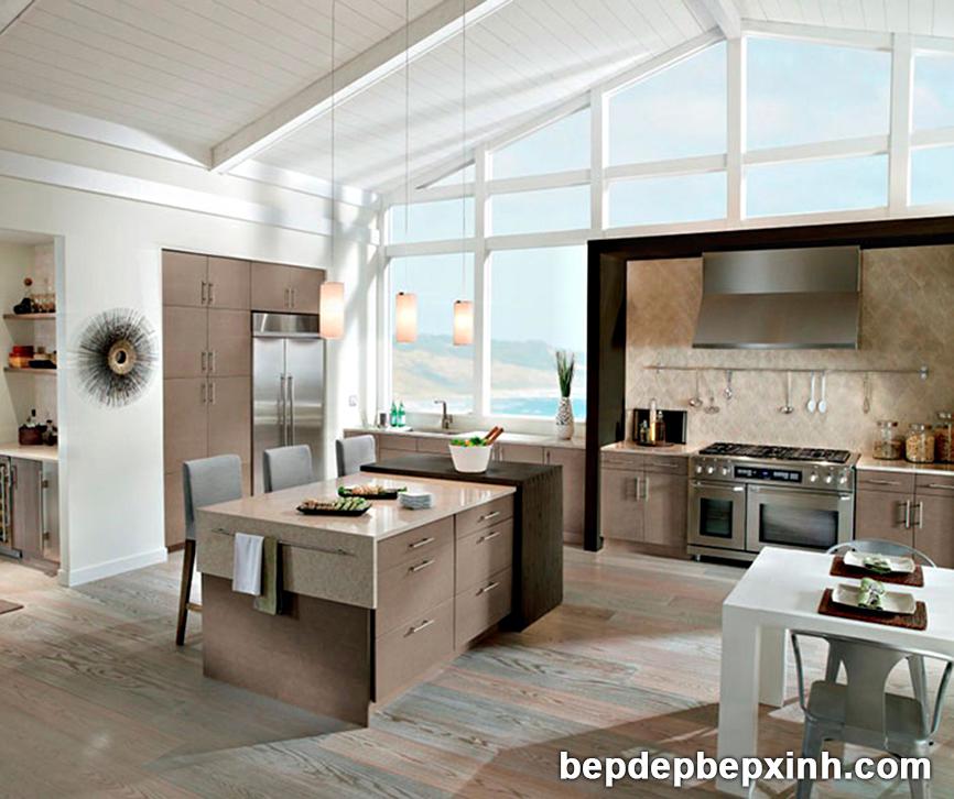Tủ bếp acrylic đẹp HCM 03