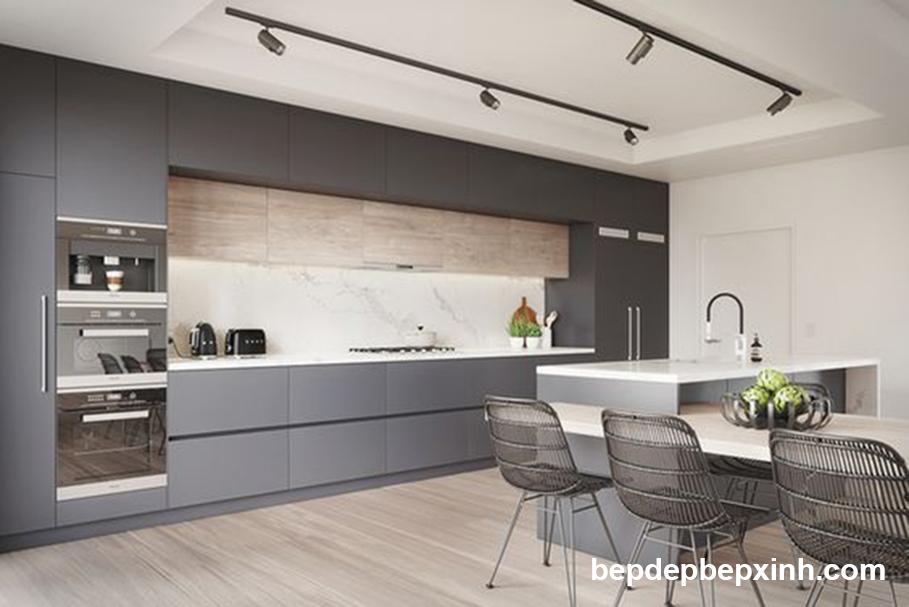 Thiết kế thi công tủ bếp đẹp HCM 01