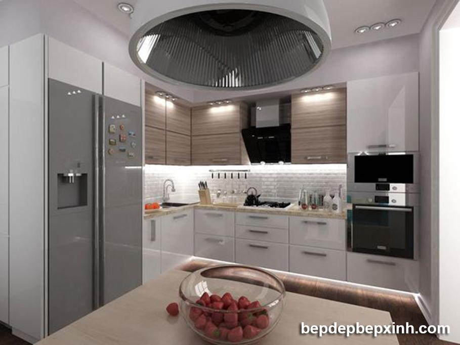 Thiết kế thi công tủ bếp đẹp HCM 02