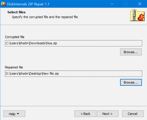 chọn file để sửa