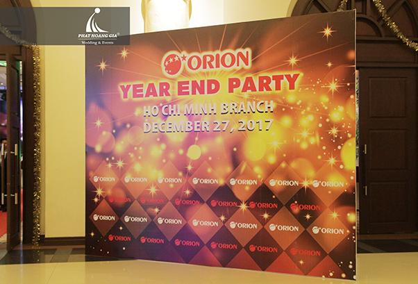 tất niên công ty Orion Vina