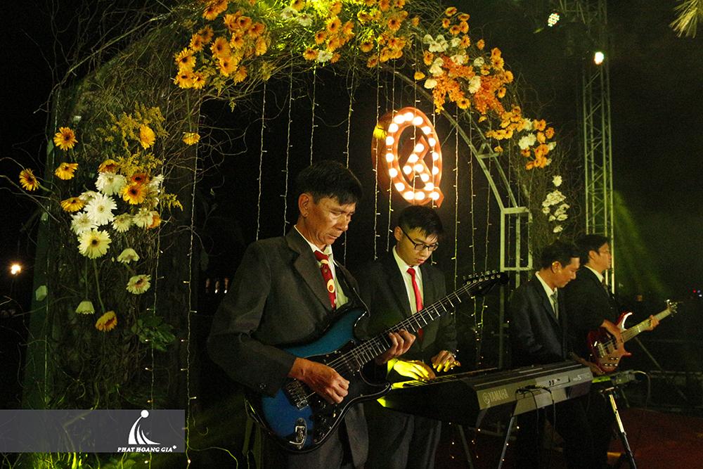 cung cấp ban nhạc tiệc cưới 2