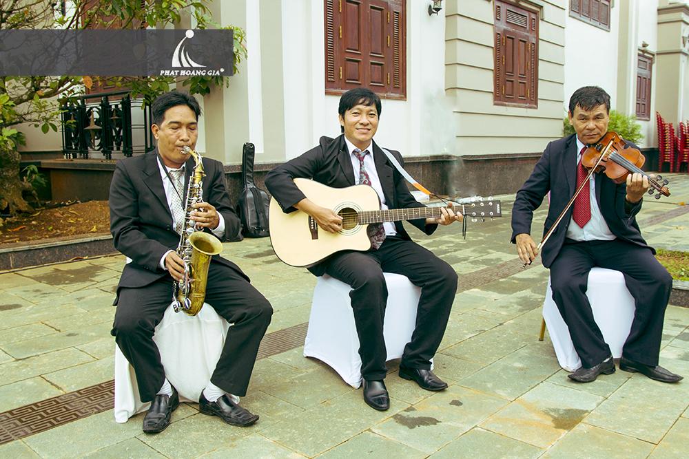 cung cấp ban nhạc tiệc cưới 4