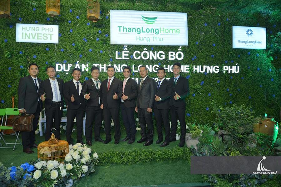 Lễ công bố dự án Thang Long Home Hưng Phú