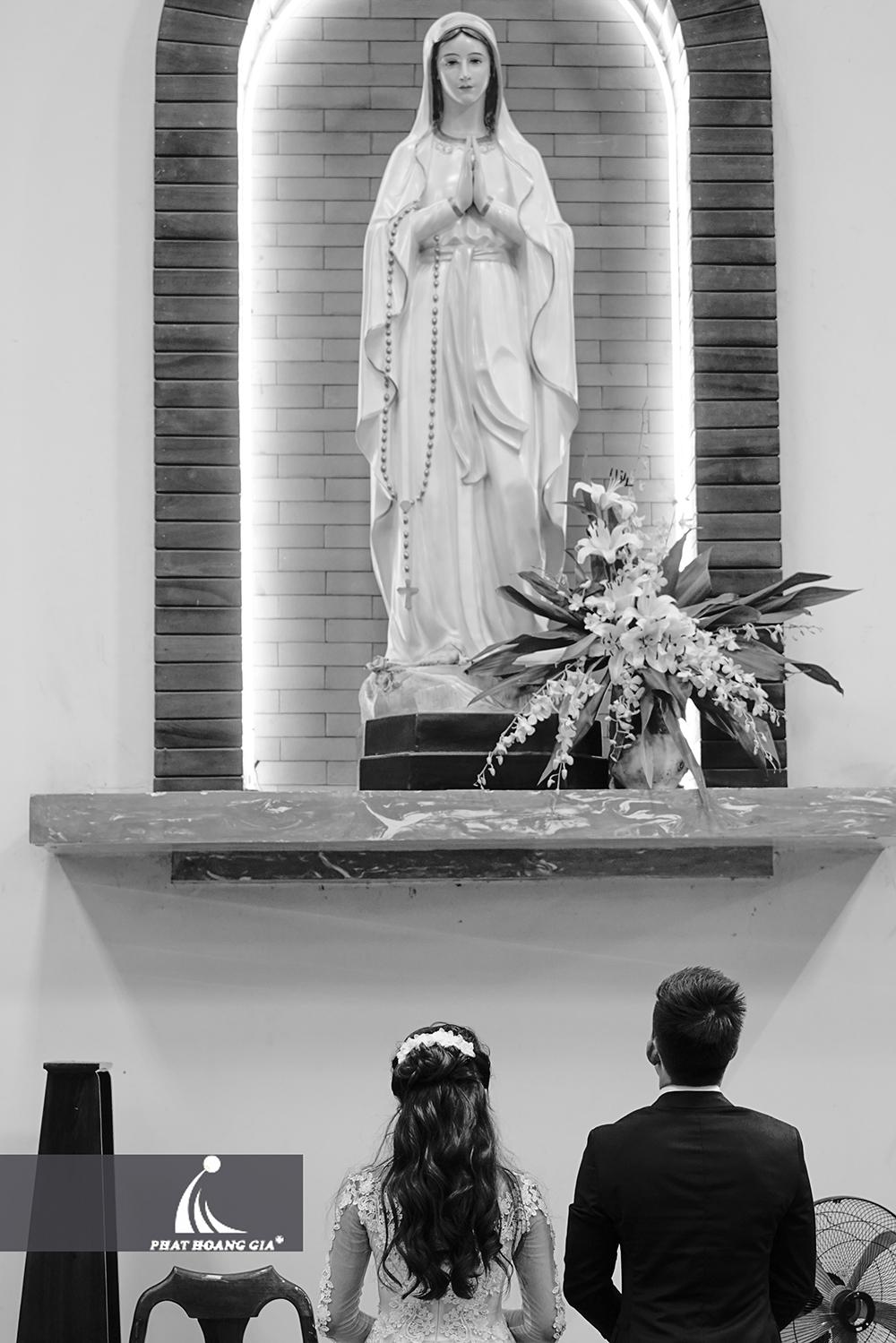 trang trí cưới tại nhà thờ 4
