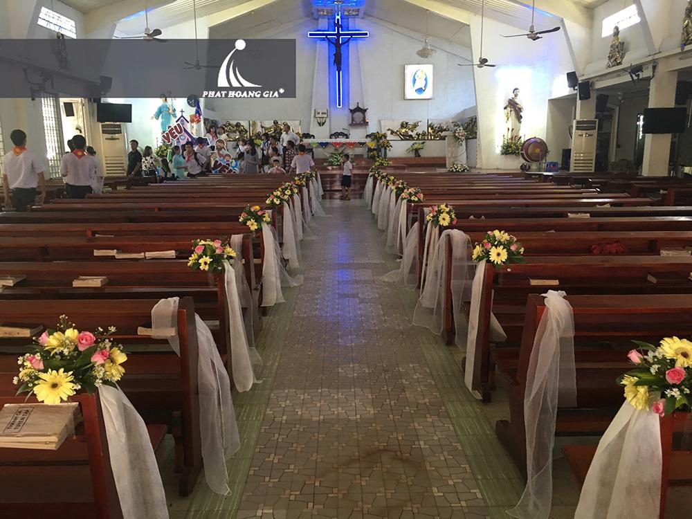 trang trí cưới tại nhà thờ 6