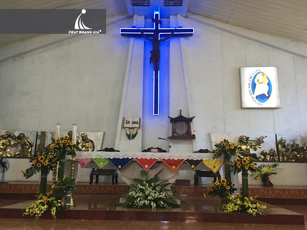 trang trí cưới tại nhà thờ 7