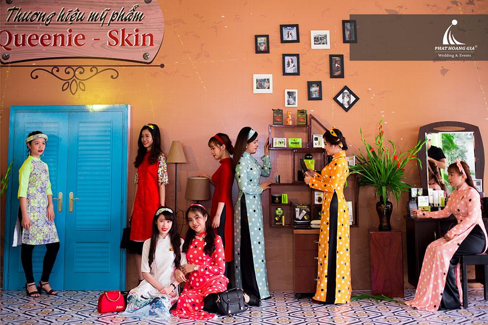 Kỷ niệm 1 năm thành lập công ty Mỹ phẩm Queenie – Skin 5