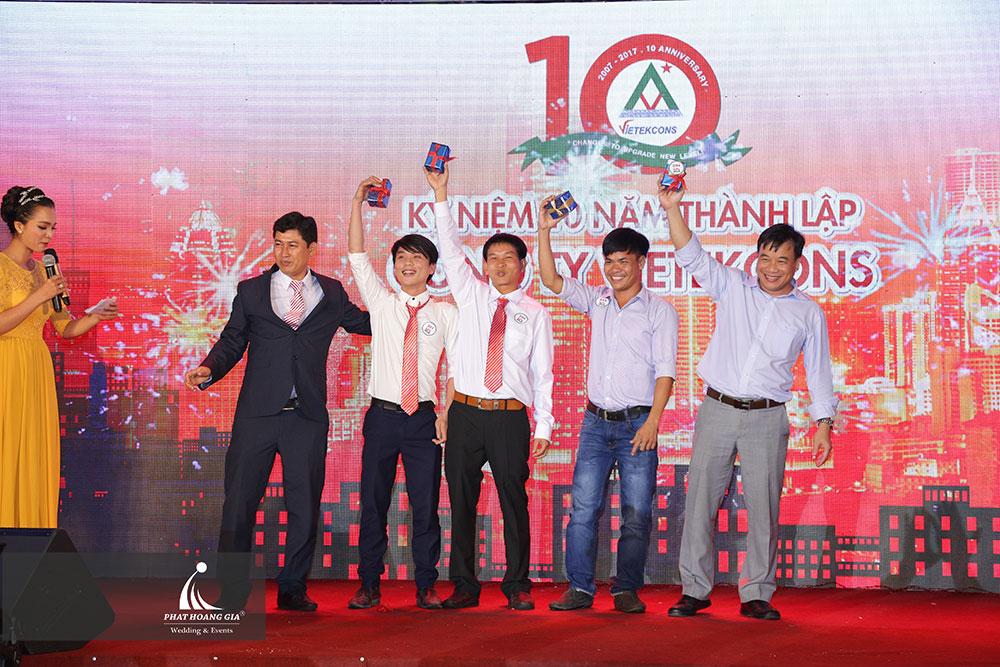 Kỷ niệm 10 năm thành lập công ty Vietekcons 25