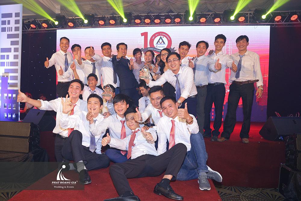 Kỷ niệm 10 năm thành lập công ty Vietekcons 26