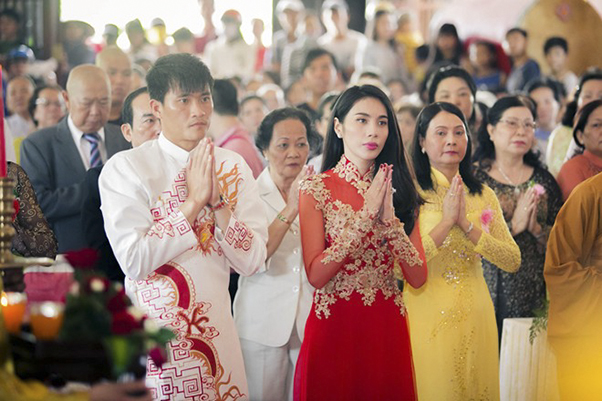 lễ hằng thuận - lễ cưới của phật tử