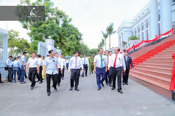 lễ khánh thành trụ sở tòa án nhân dân cấp cap tại tphcm