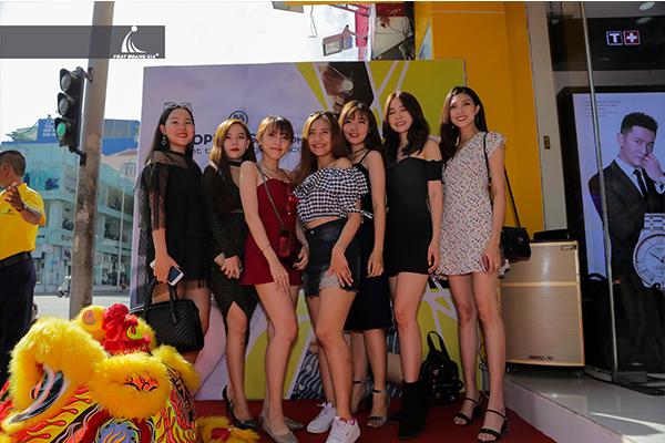 Khai trương showroom đồng hồ Ctime CN Hai Bà Trưng