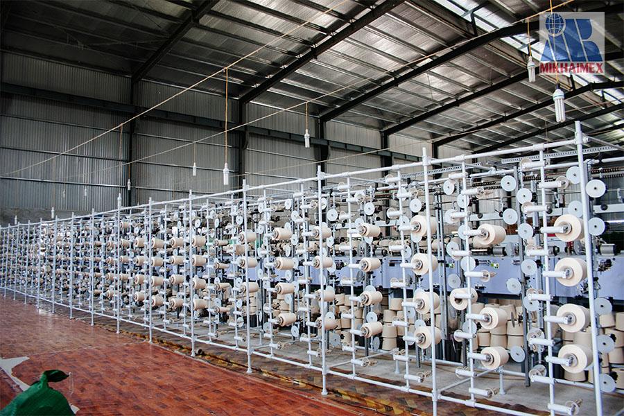 máy se sợi của Công ty dệt minh khai