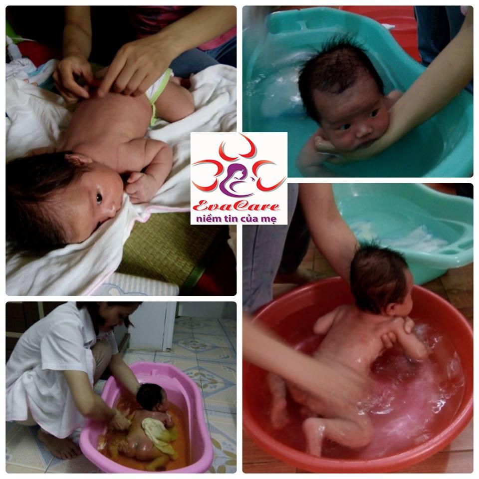 Dịch vụ tắm cho bé sơ sinh tại nhà