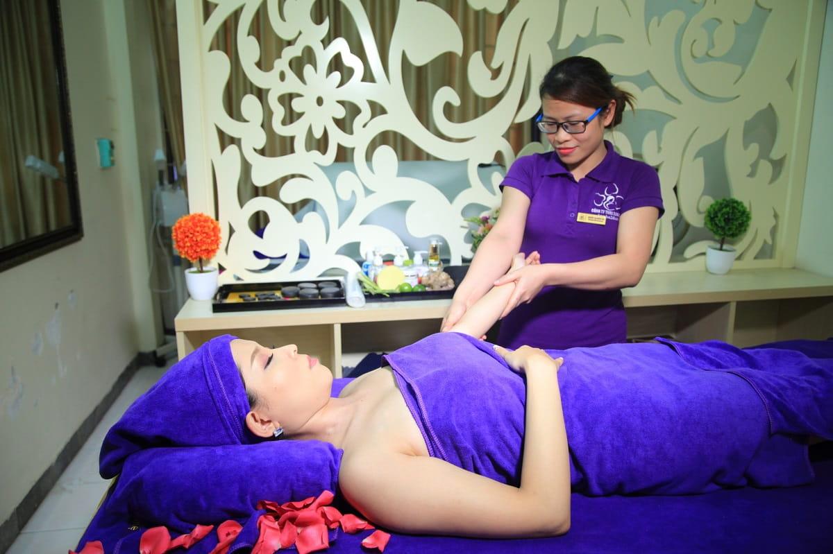 Spa massage bầu và sau sinh