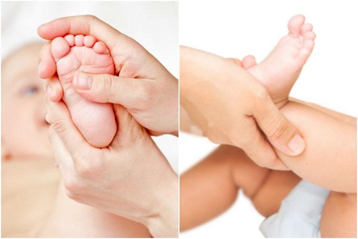 Hướng dẫn cách massage cho bé sơ sinh