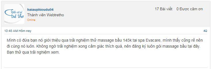 Spa Massage bà bầu ở đâu tốt tại Hà Nội
